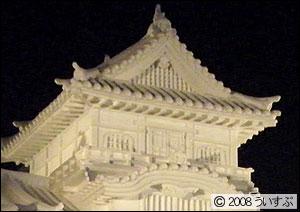 8丁目 雪のHTB広場 「国宝 犬山城」