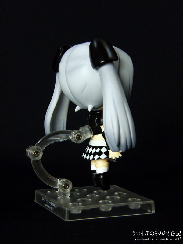 ねんどろいど ミス・モノクローム Poker Face Black ver.