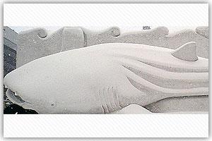 4丁目雪像「沖縄美ら海水族館」