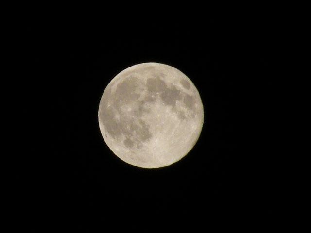 満月がきれい