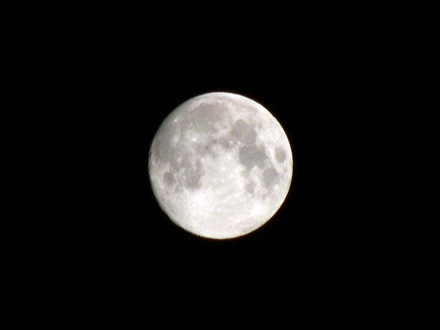 満月 -1日