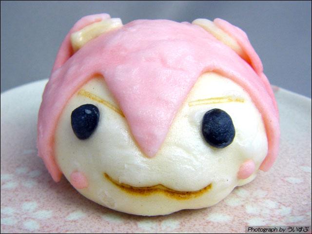 桜ミクまん & マグカップ ゲットできました。「初音ミクde桜ノ歌のキャンペーン」