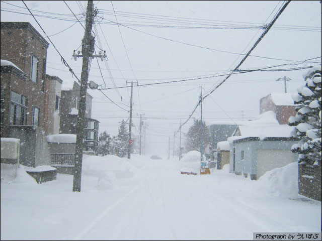 吹雪の天気
