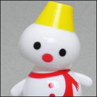 太陽光パネルのおもちゃ。ソーラートイの「ひだまり スノーマン」