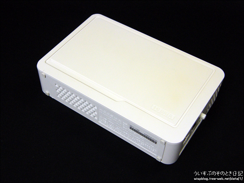I-O DATA HDCS-U500 外付けHDDの分解メモ