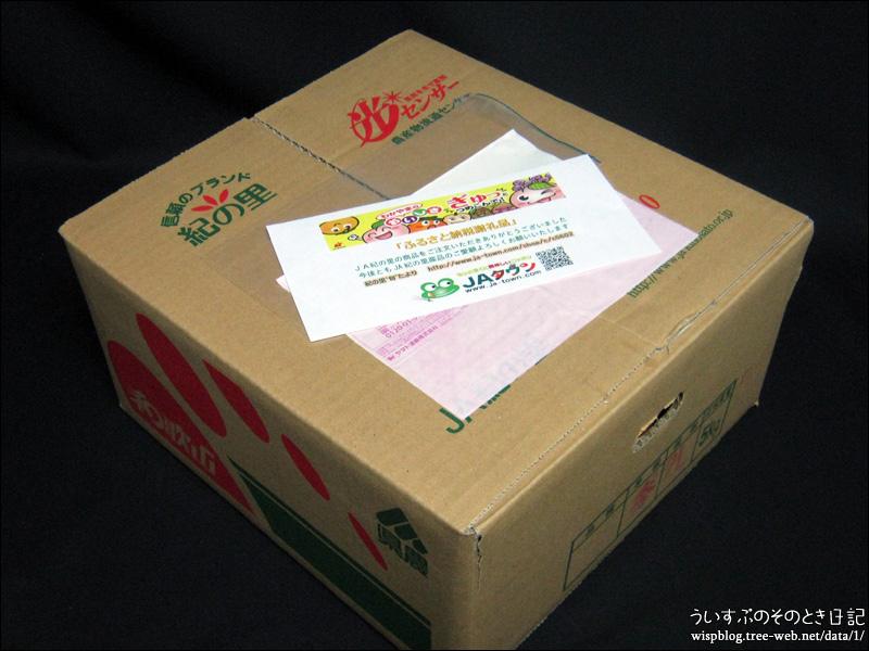 大阪府 泉佐野市のふるさと納税、「八朔」届きました! ですが。