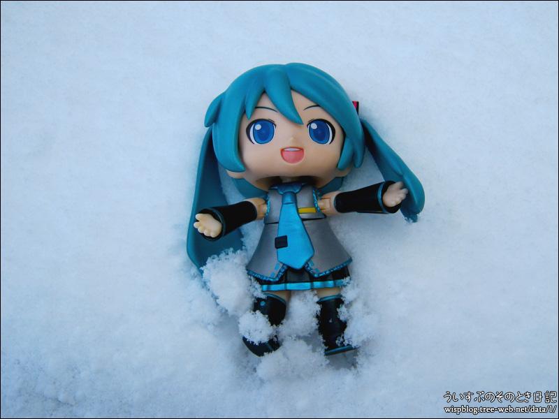 雪です。冷えます。ダヨーです。